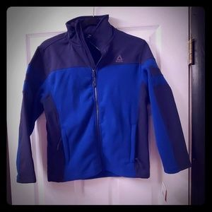 NWT Kids Reebok Team Royal Jacket Size M